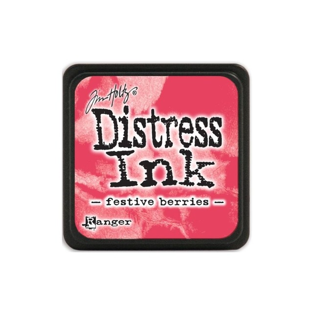 Almohadilla de Tinta Distress Ink Mini Color Festive Berries