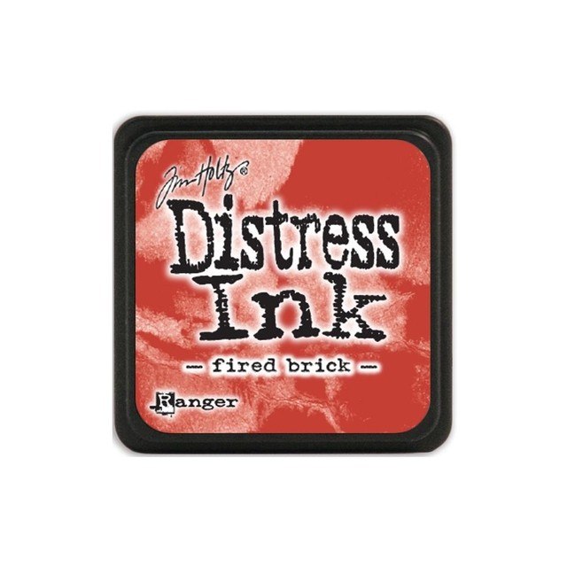 Almohadilla de Tinta Distress Ink Mini Color Fired Brick