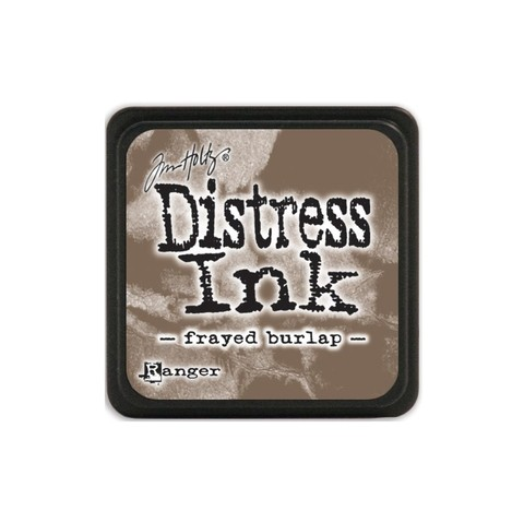 Almohadilla de Tinta Distress Ink Mini Color Frayed Burlap