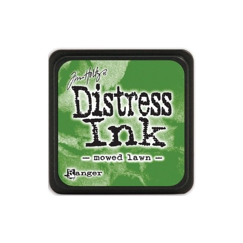 Almohadilla de Tinta Distress Ink Mini Color Mowed Lawn