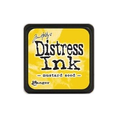 Almohadilla de Tinta Mini Color Mustard Seed Distress Ink