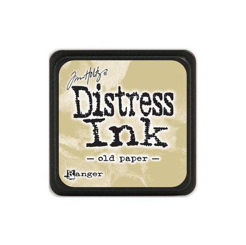 Almohadilla de Tinta Distress Ink Mini Color Old Paper