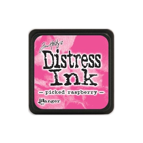Almohadilla de Tinta Distress Ink Mini Color Picked Raspberry