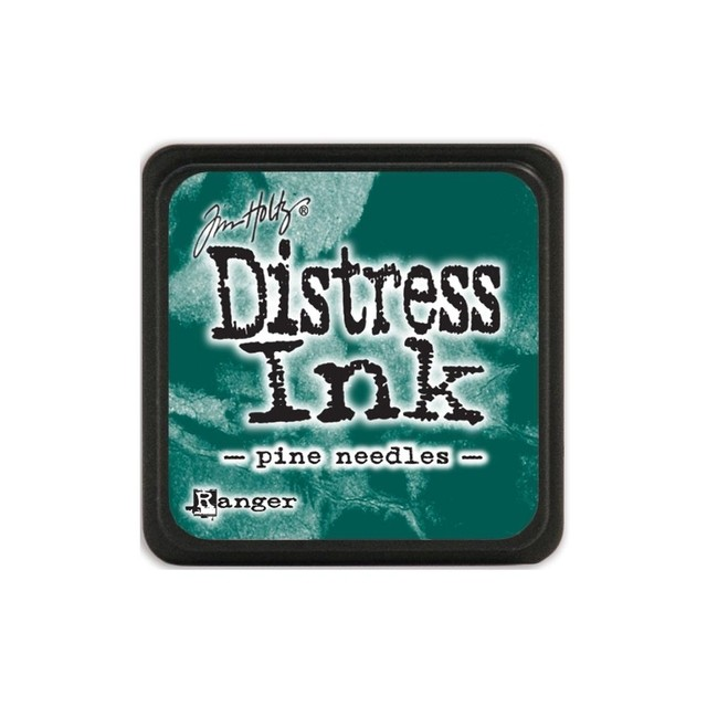Almohadilla de Tinta Distress Ink Mini Color Pine Needles