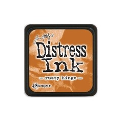 Almohadilla de Tinta Distress Ink Mini Color Rusty Hinge