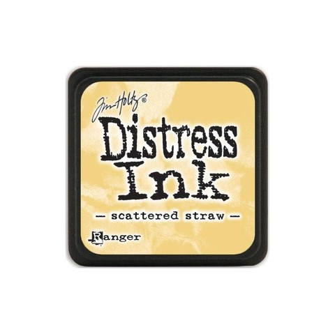 Almohadilla de Tinta Distress Ink Mini Color Scattered Straw