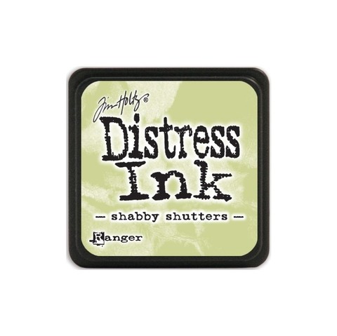 Almohadilla de Tinta Distress Ink Mini Color Shabby Shutters