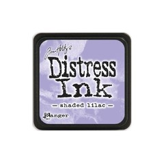 Almohadilla de Tinta Mini Color Shaded Lilac Distress Ink Ranger