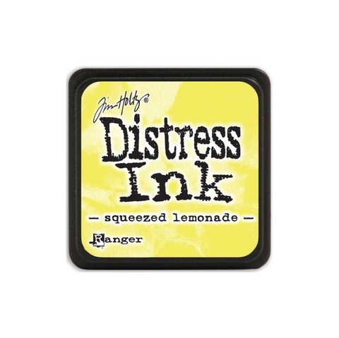 Almohadilla de Tinta Distress Ink Mini Color Squeezed Lemonade