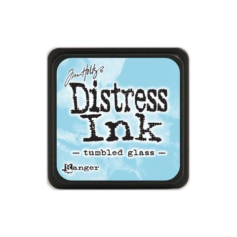 Almohadilla de Tinta Distress Ink Mini Color Tumbled Glass