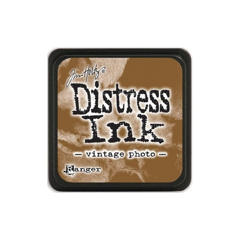Almohadilla de Tinta Distress Ink Mini Color Vintage Photo