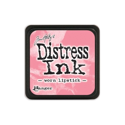 Almohadilla de Tinta Distress Ink Mini Color Worn Lipstick