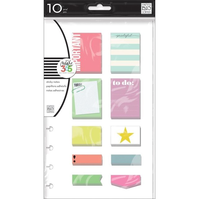 KIT DE 200 STICKY NOTES IMPORTANT PARA CREATE 365 PLANNER - comprar online