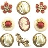 Botones decorativos Victorian Treasures Button Galore