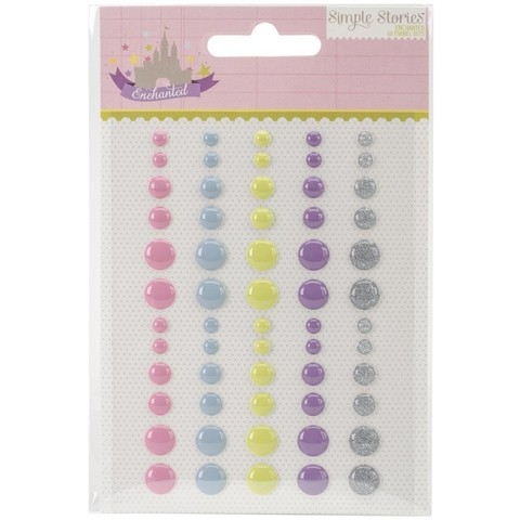 Enamel Dots Autoadhesivos 60 unidades Simple Stories - comprar online