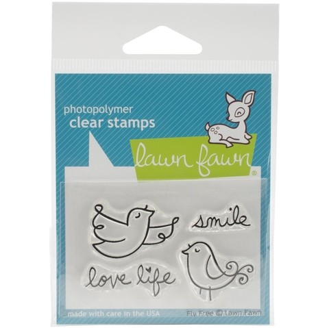 Sellos Fly Free Clear Stamp Lawn Fawn
