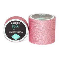 Cinta Decorativa Washi Tape Pale Pink Glitter