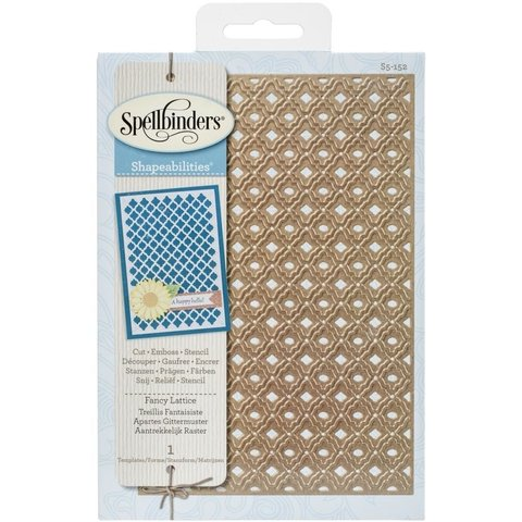 Troqueladora Fancy Lattice Spellbinders en internet
