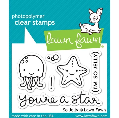 Sellos So Jelly Clear Stamp Lawn Fawn - comprar online