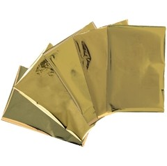 30 HOJAS DE FOIL DORADO HEATWAVE GOLD WE R MEMORY KEEPERS - comprar online
