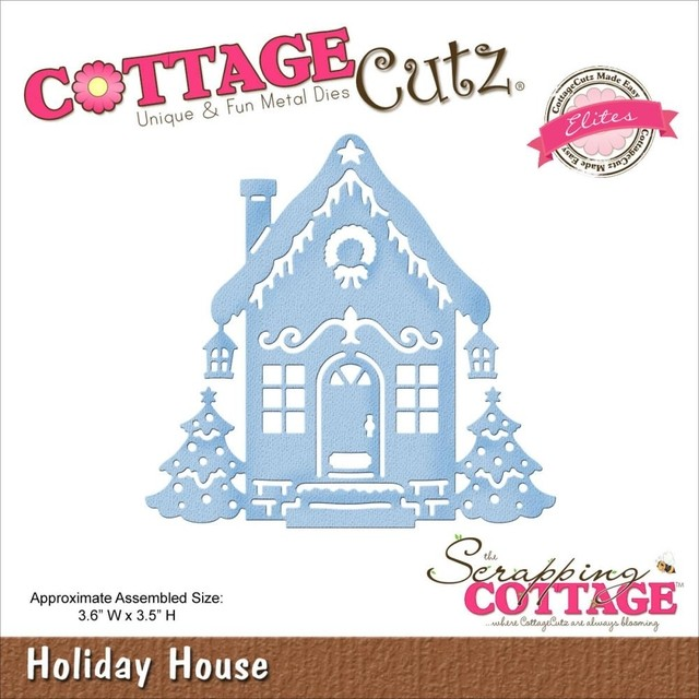 Troqueladora Holiday House Cottage Cutz
