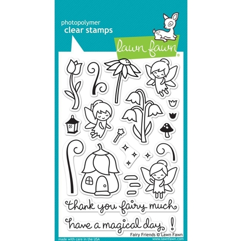 Sellos Fairy Friends Clear Stamp Lawn Fawn