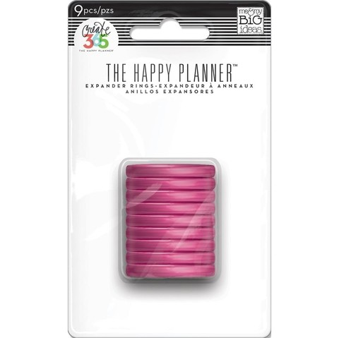 ANILLOS FUCSIA The Happy Planner Create 365