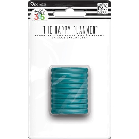 ANILLOS TURQUESA The Happy Planner Create 365