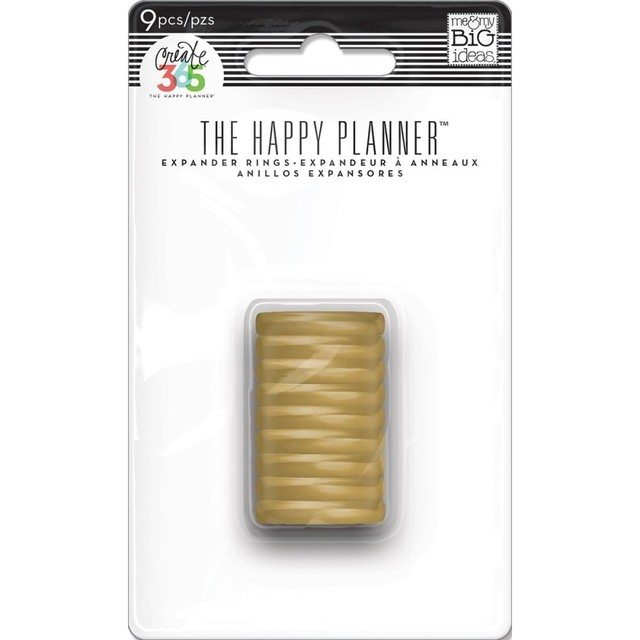 ANILLOS DORADOS The Happy Planner Create 365