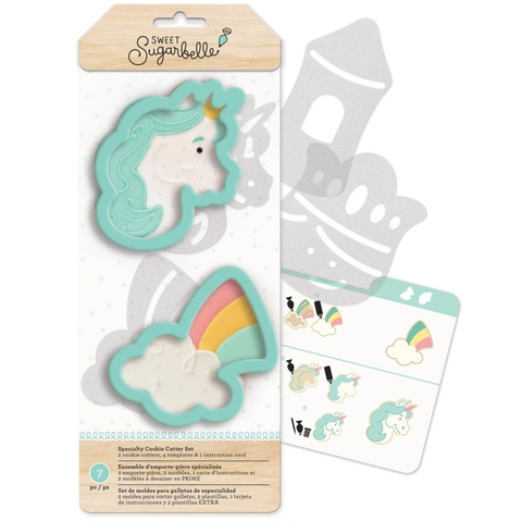 Moldes Para Hacer Galletitas Unicornio Enchanted Sweet Sugarbelle