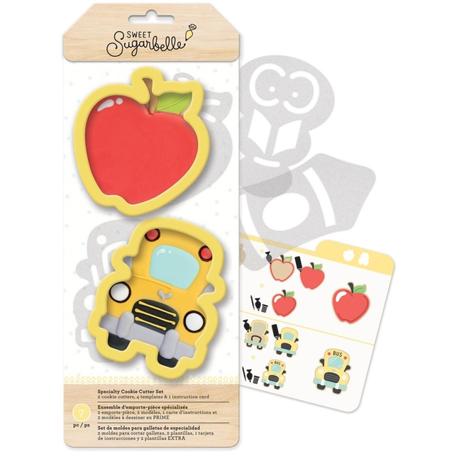 Moldes Para Hacer Galletitas Back To School Sweet Sugarbelle - comprar online
