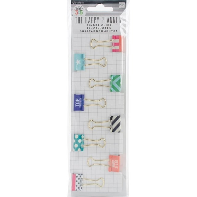 Clips tipo broche To Priority Happy Planner - comprar online