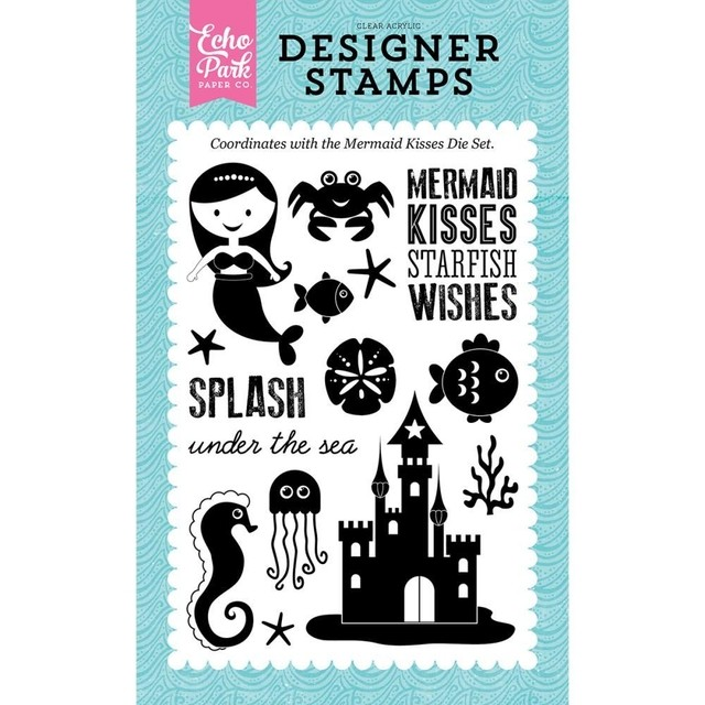 Sellos Mermaid Kisses Clear Stamp Echo Park Paper - comprar online
