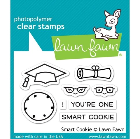Kit de Sellos y Troqueles Smart Cookie Lawn Fawn