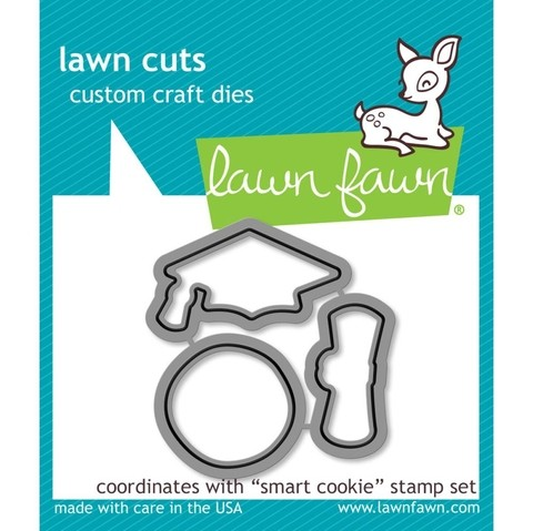 Kit de Sellos y Troqueles Smart Cookie Lawn Fawn - comprar online