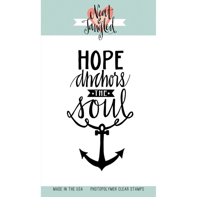 Sellos Hope Anchors Neat & Tangled