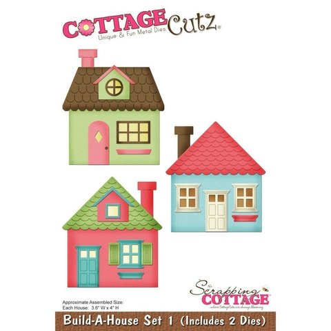 Troqueladora Build-A-House Set Cottage Cutz