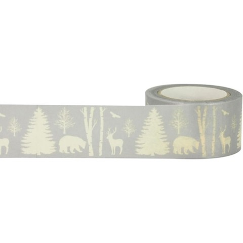 Cinta Decorativa Washi Tape Winter Nature Little B