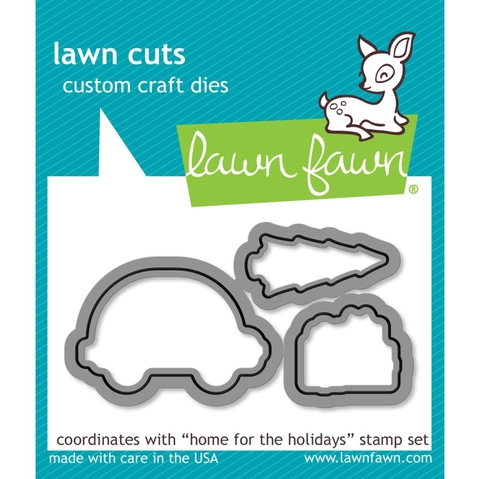 Kit de Sellos y troqueles Home For The Hollidays Lawn Fawn en internet