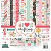 Block de Papeles bifaz I Heart Crafting 30 x 30 cm Carta Bella