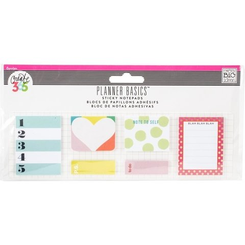 KIT DE 120 STICKY NOTES BRIGHT PARA CREATE 365 PLANNER - comprar online