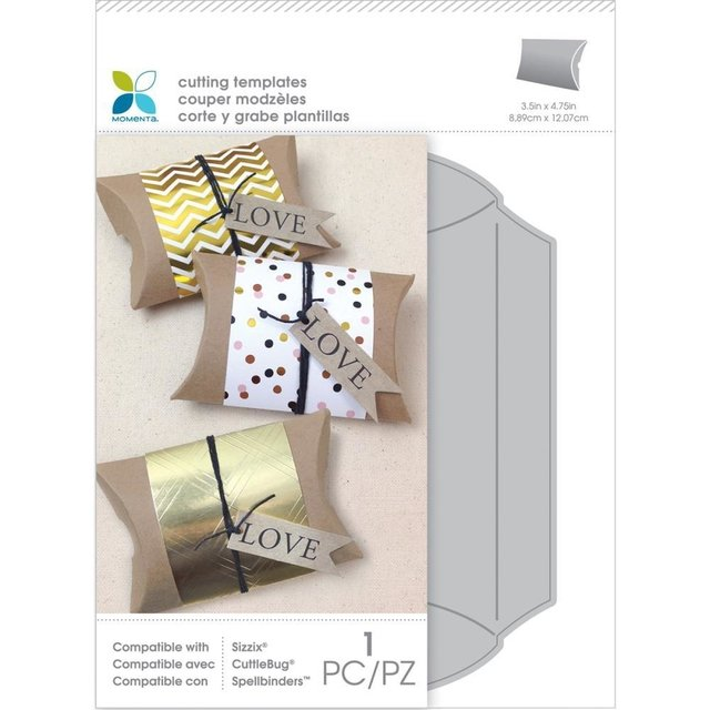 Troqueladora de Caja Medium Pillow Box Momenta