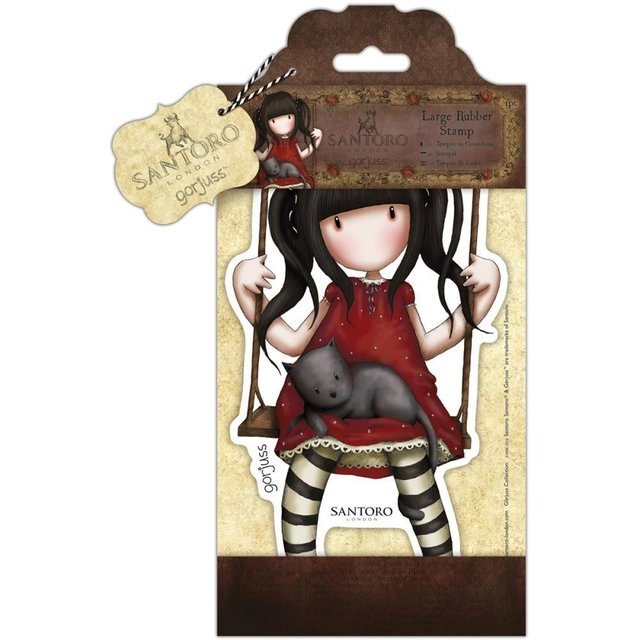 Sellos Cling Stamp Gorjuss Ruby Santoro - comprar online