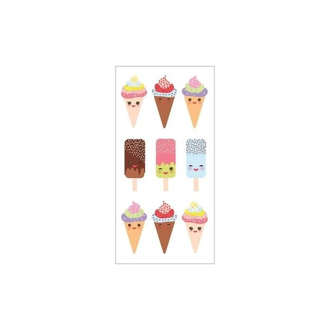 Stickers Heladitos Ice cream Paper House - comprar online
