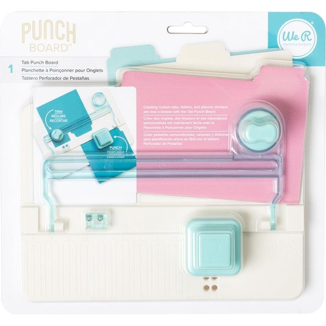 Tablero Creador de Separadores TAB PUNCH BOARD WE R MEMORY KEEPERS - comprar online
