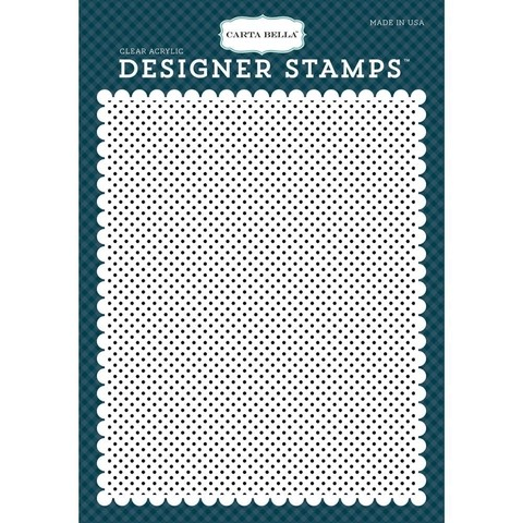 Sello Claro Clear Stamps Rock-A-Bye, Petite Dot Cartabella - comprar online