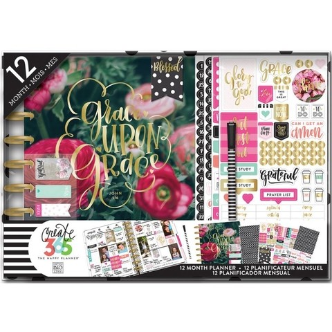 AGENDA TIPO PLANNER HAVE FAITH CREATE 365 PLANNER BOX KIT - comprar online