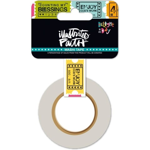 Cintas Decorativa Washi Tape Ticket Taker Illustrated Faith - comprar online