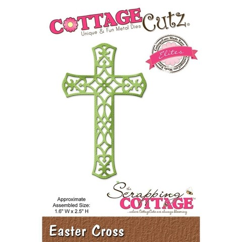 Troqueladora Cruz de Filigrana Easter Cross Cottage Cutz