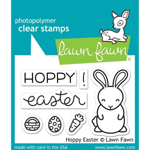Kit de Sellos y troqueles Hoppy Easter Lawn Fawn